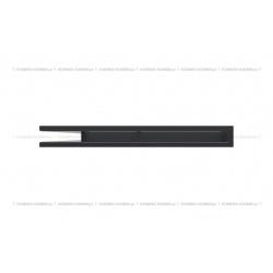 kratka wentylacyjna luft narożny standard 766x547x60 lewy grafitowy SF