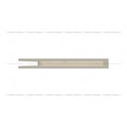 kratka wentylacyjna luft narożny standard 766x547x60 lewy kremowy