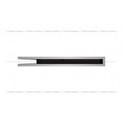 kratka wentylacyjna luft narożny standard 766x547x60 lewy szlifowany