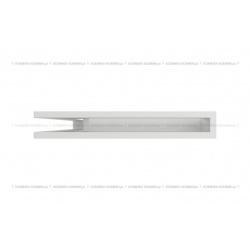 kratka wentylacyjna luft narożny standard 60x400x600 lewy biały