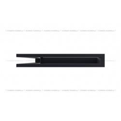 kratka wentylacyjna luft narożny standard 60x400x600 lewy czarny SF