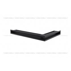 kratka wentylacyjna luft narożny standard 60x400x600 lewy grafitowy SF