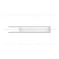 kratka wentylacyjna luft narożny standard 766x547x90 lewy biały SF