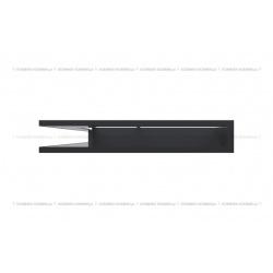 kratka wentylacyjna luft narożny standard 766x547x90 lewy grafitowy SF