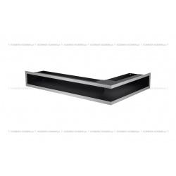 kratka wentylacyjna luft narożny standard 90x400x600 lewy biały SF