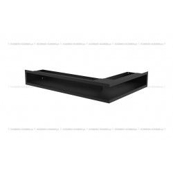 kratka wentylacyjna luft narożny standard 90x400x600 lewy czarny SF