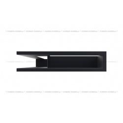 kratka wentylacyjna luft narożny standard 90x400x600 lewy grafitowy