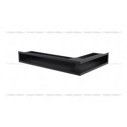 kratka wentylacyjna luft narożny standard 90x400x600 lewy grafitowy SF