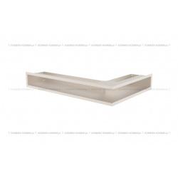 kratka wentylacyjna luft narożny standard 90x400x600 lewy kremowy