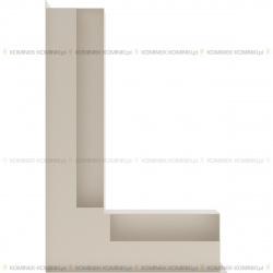 kratka wentylacyjna luft narożny standard 90x400x600 lewy kremowy SF