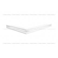 kratka wentylacyjna luft narożny standard 547x766x60 prawy biały