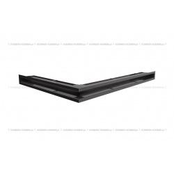 kratka wentylacyjna luft narożny standard 547x766x60 prawy czarny