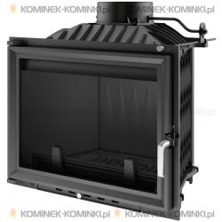 Wkład kominkowy KRATKI ERYK 12 kW + dolot - kominek KRATKI
