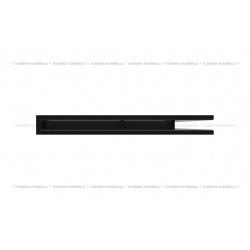 kratka wentylacyjna luft narożny standard 547x766x60 prawy czarny SF