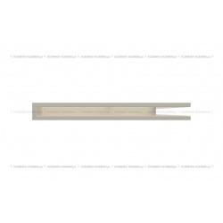 kratka wentylacyjna luft narożny standard 547x766x60 prawy kremowy
