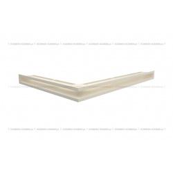 kratka wentylacyjna luft narożny standard 547x766x60 prawy kremowy SF