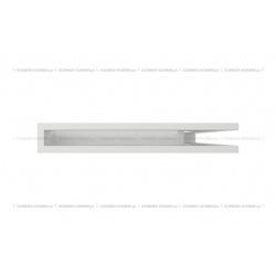 kratka wentylacyjna luft narożny standard 60x400x600 prawy biały