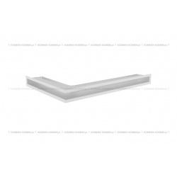 kratka wentylacyjna luft narożny standard 60x400x600 prawy biały SF