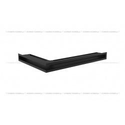 kratka wentylacyjna luft narożny standard 60x400x600 prawy czarny SF