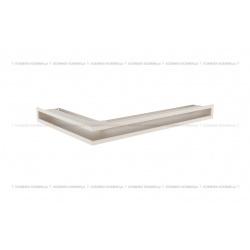 kratka wentylacyjna luft narożny standard 60x400x600 prawy kremowy
