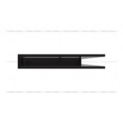 kratka wentylacyjna luft narożny standard 547x766x90 prawy czarny SF