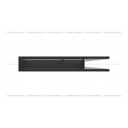 kratka wentylacyjna luft narożny standard 547x766x90 prawy grafitowy
