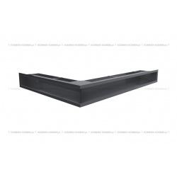 kratka wentylacyjna luft narożny standard 547x766x90 prawy grafitowy SF