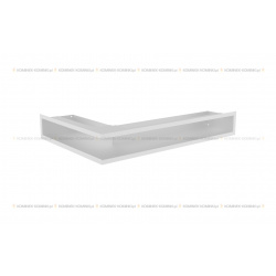 kratka wentylacyjna luft narożny standard 90x400x600 prawy biały