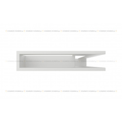 kratka wentylacyjna luft narożny standard 90x400x600 prawy biały SF