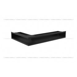 kratka wentylacyjna luft narożny standard 90x400x600 prawy czarny SF