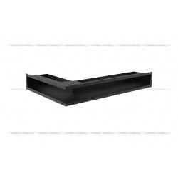 kratka wentylacyjna luft narożny standard 90x400x600 prawy grafitowy