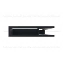 kratka wentylacyjna luft narożny standard 90x400x600 prawy grafitowy SF