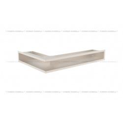 kratka wentylacyjna luft narożny standard 90x400x600 prawy kremowy