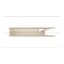 kratka wentylacyjna luft narożny standard 90x400x600 prawy kremowy SF