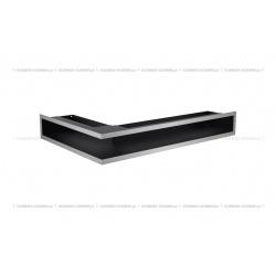 kratka wentylacyjna luft narożny standard 90x400x600 prawy szlifowany