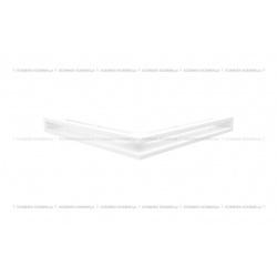 kratka wentylacyjna luft narożny standard 560x560x60 biały