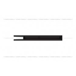 kratka wentylacyjna luft narożny standard 560x560x60 czarny SF