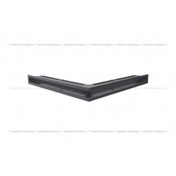 kratka wentylacyjna luft narożny standard 560x560x60 grafitowy SF
