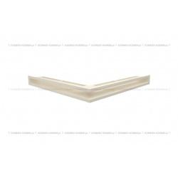 kratka wentylacyjna luft narożny standard 560x560x60 kremowy SF