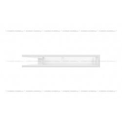 kratka wentylacyjna luft narożny standard 560x560x90 biały