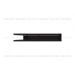 kratka wentylacyjna luft narożny standard 560x560x90 czarny