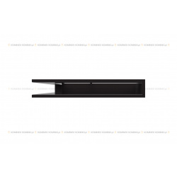 kratka wentylacyjna luft narożny standard 560x560x90 czarny SF