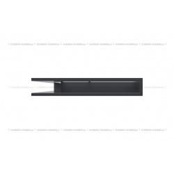 kratka wentylacyjna luft narożny standard 560x560x90 grafitowy