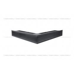 kratka wentylacyjna luft narożny standard 560x560x90 grafitowy SF