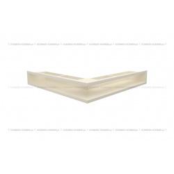 kratka wentylacyjna luft narożny standard 560x560x90 kremowy