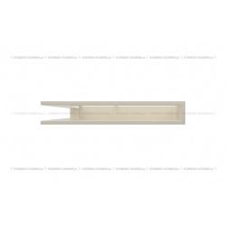 kratka wentylacyjna luft narożny standard 560x560x90 kremowy SF