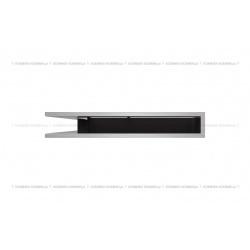kratka wentylacyjna luft narożny standard 560x560x90 szlifowany SF