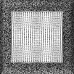kratka17/17 oskar czarno-srebrny