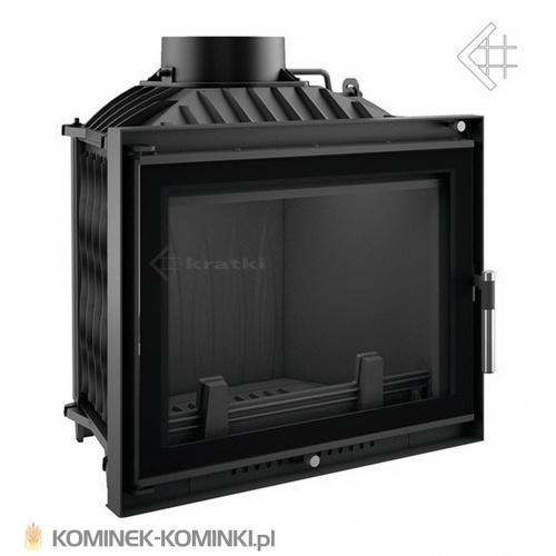Wkład kominkowy KRATKI ERYK 12 kW DECO + dolot - kominek KRATKI