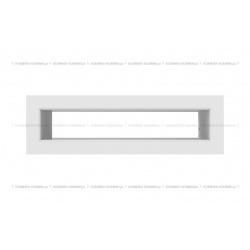 kratka wentylacyjna tunel 60x200 mm - kolor biały